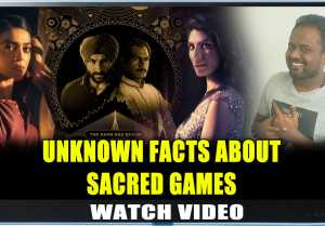 All You Want To Know About Sacred Games  One Minute Video