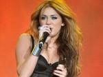 Miley Cyrus Flashes Her Underwear