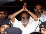 Rajinikanth Returns Home Aid
