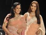 Bipasha Walks Ramp With Mom Aid