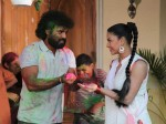 Pakistani Actress Veena Malik Celebrates Holli