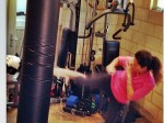 Sunny Leon Learn Boxing