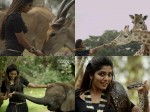 Omg Rima Kallingal Holds A Python Movie Escape From Uganda