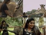 Omg Rima Kallingal Holds A Python Movie Escape From Uganda