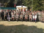 Mohanlal Spends Time With Soldiers