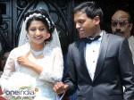 Anil John Meera Jasmine Marriage At Lms Church Thiruvananthapuram