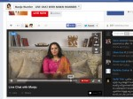 Manju Warrier Facebook Live Chat