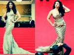 Aishwarya Rai Flaunts Her Curvy Figure At Cannes