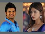 Sruthi Haasan Dating Indian Cricketer Suresh Raina