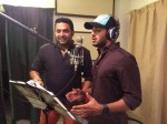 Dulquer Sings For Mammoottys Manglish 20140719084518