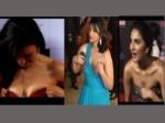 Actresses Caught Adjusting Their Dresses In Public