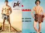 Is Aamir Khan S Pk Poster Copied