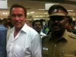 Arnold Schwarzenegger In Chennai For I Audio Launch