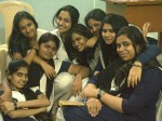 Actress Namitha Pramod With Her School Friends