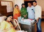 Riteish Deshmukh Wife Genelia With Their New Born Baby