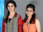 Divya Unni With Her Sister Vidhya Unni