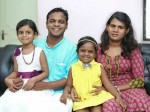 Dharmajan Bolgatty With His Family