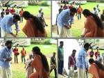 Did Mammootty Touch Asha Sharath S Legs