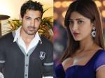 John Abraham Refuses Kiss Shruti Hassan Welcome Back