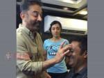 Kamal Turns Makeup Man Trisha Prakash Raj