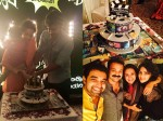 Nivin Pauly Got Surprise Birth Day Party Wife Rinna