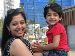 Actress Gopika With Her Daughter Aamy