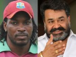 Watch West Indies Cricketer Chris Gayle Imitating Superstar Mohanlal