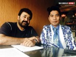 Mohanlal Was Hugged Kissed Peter Hein