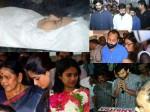 Actress Kalpana Funeral Photso