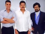 Akshay Kumar Flies Chennai Robot 2 0 Shoot