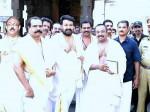 Mohanlal Visits Padmanabhaswamy Temple