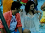 Jiiva Caught Staring At Kajal Aggarwal