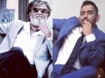 Dhoni Imitating Rajinikanth S Famous Dialogue