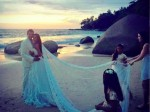 Exclusive Wedding Pictures Lisa Haydon From Thailand