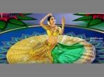 Pragya Jaiswal S 14 Kg Gold Om Namo Venkatesaya Lehenga