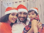 Muktha S Christmas Celebration Photos