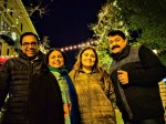 Mohanlal S Christmas Wishes From New York