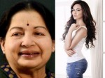 Atcress Sana Khan Wants Play Jayalalithaa On Screen