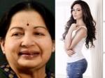 Atcress Sana Khan Wants Play Jayalalithaa On Screen