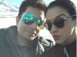 Asin Holidays France With Hubby Rahul Sharma