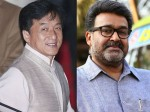 Mohanlal Prepares Film Action Scene With Jackie Chan