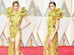 Actress Suffers Major Wardrobe Malfunction Oscars Red Carpet