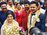 Mammootty At Lalu Alex Son Marriage