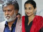 Vidhya Balan In Para Ranjith Rajinikanth Movie