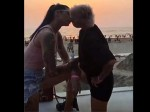 Bigg Boss Contestants Sapna Bhavnani And V J Bani Kissing Video Viral