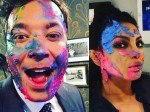 Priyanka Chopra Celebrated Holi With Jimmy Fallon