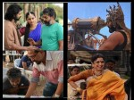 Baahubali 2 These Working Stills Of Prabhas And Rana Daggubati