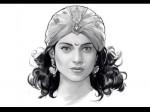Kangana S Look As Rani Lakshmibai Revealed