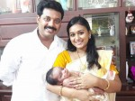 Serial Couple Jishin Varada Blessed With Baby Boy