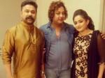 Dileep Kavya With Makeup Artist Avinash